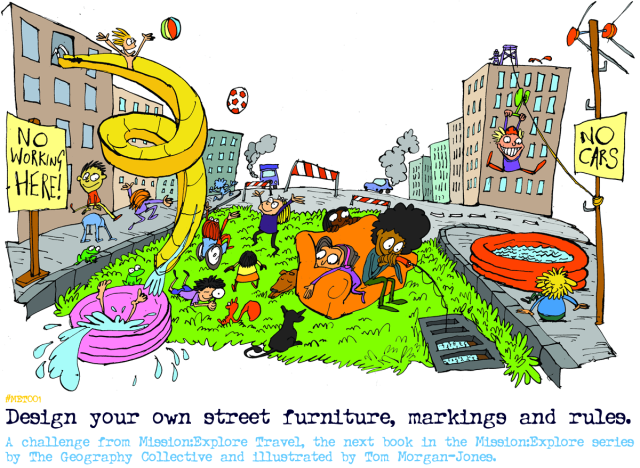 """Design your own street. A mission from the next book in the Mission:Explore series.. """"Mission:Explore Travel"""""""