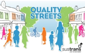 Quality Streets – www.quality-streets.org.uk Wouldn't life be great if the street outside your front door felt like your own space? Somewhere to chat with your neighbours, kick a ball with the kids, get about by foot and bike? Take action with Quality Streets and you could have a street like that.